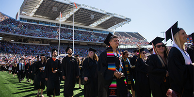 Image of commencement ceremony