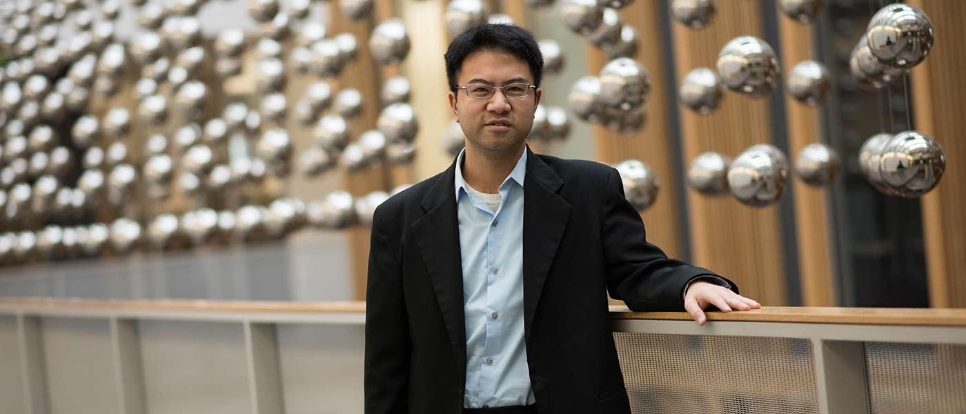 Benny Kuo in Austin Hall
