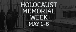 Holocaust Memorial Week