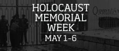 Holocaust Memorial Week