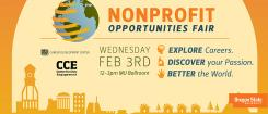 Nonprofit Opportunities Fair flier