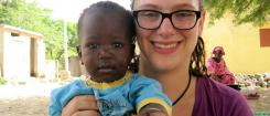 Feature story image, Sarah Jacobi in Senegal