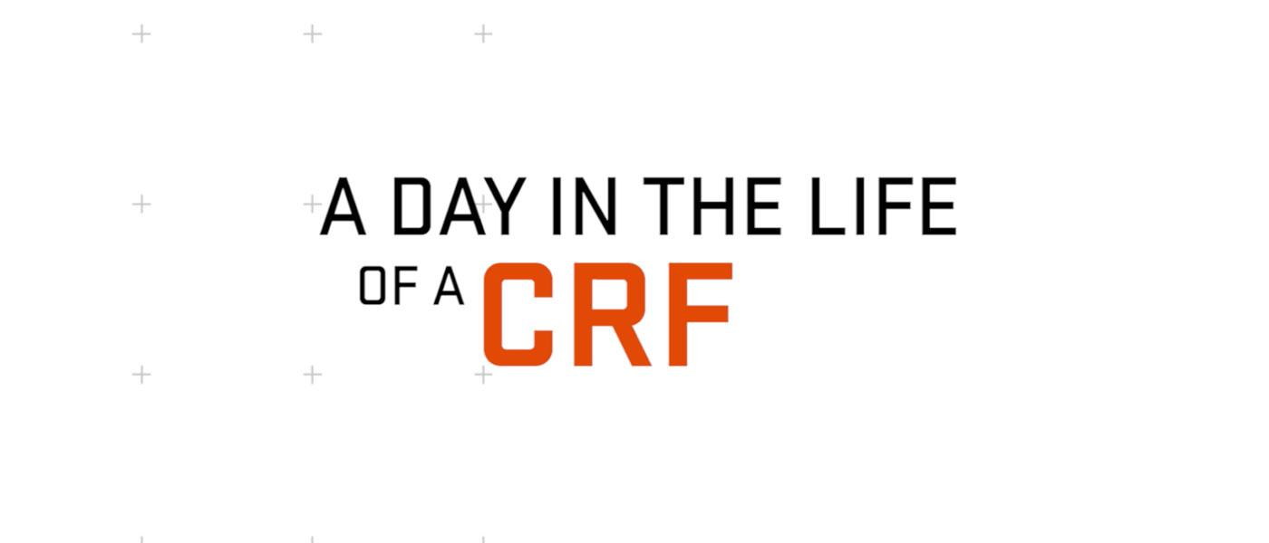 A day in the life of a CRF slide