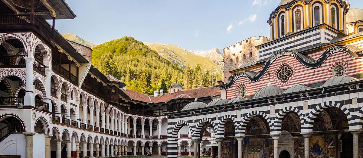 Feature story image, Rila Monastery in Bulgaria